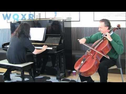 Café Concert:David Finckel and Wu Han Play Shostakovich Cello Sonata — Allegro