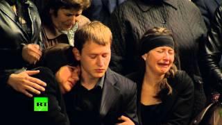 В Одессе начались похороны погибших в пожаре в Доме профсоюзов