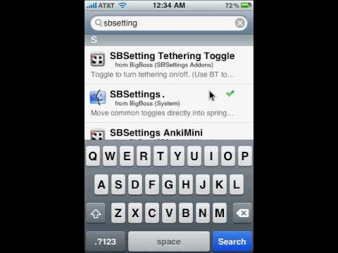 how to get springboard on ipod touch