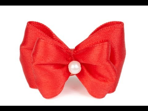 How To Make Hair Bows For Little Girls Youtube