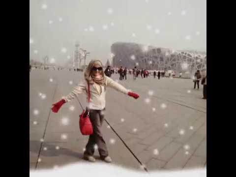 Romantic Moment in Beijing