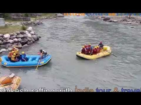 Rishikesh rafting with india tour & travels