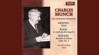 Suite No.2 from Bacchus et Ariane - VI. Le Thiase défile