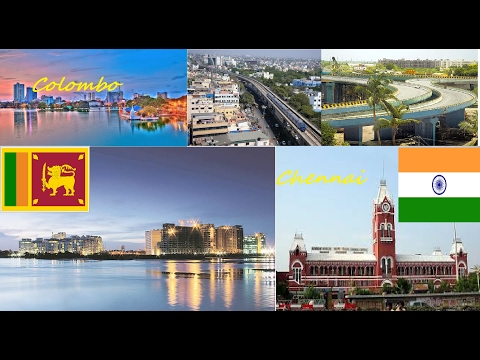 Chennai vs Colombo || comparison || 2017