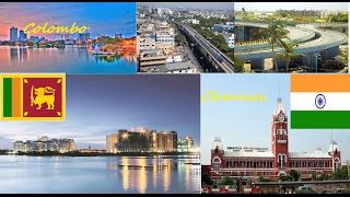 Chennai vs Colombo || comparison || 2017