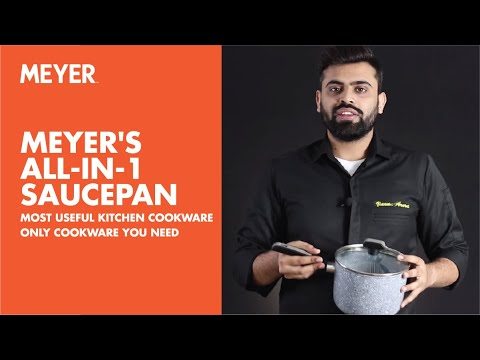 Meyer's All-In-1 Saucepan | Most Useful Kitchen Cookware | Only Cookware You Need
