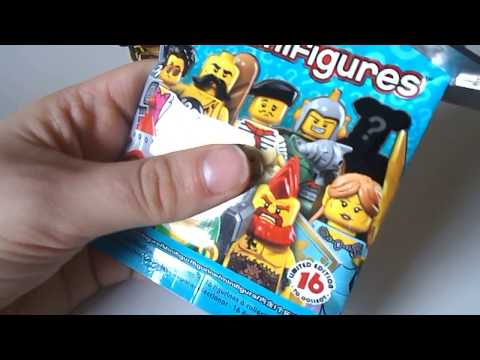 Lego minifigures opening 6 : serie 17