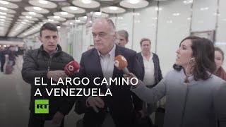 Los eurodiputados españoles intentarán entrar en Venezuela otra vez