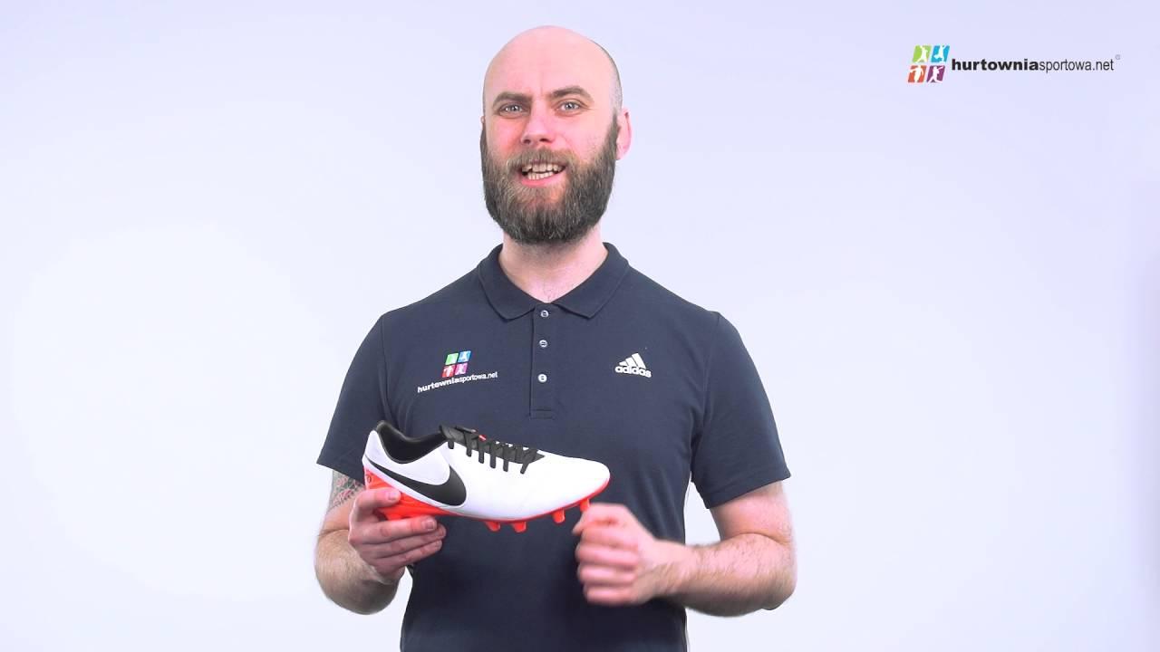ea73c498338e Buty piłkarskie Nike Tiempo Mystic V FG 819236-108 - YouTube