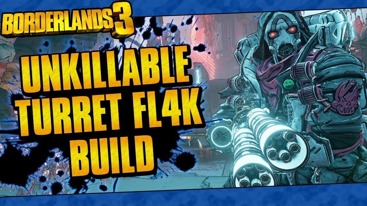 Borderlands 3 | Unkillable Turret FL4K Build (Melts Bosses And Mobs!) thumbnail