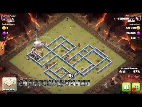 Dacii Vs Emris / Clash Of Clans War Recap