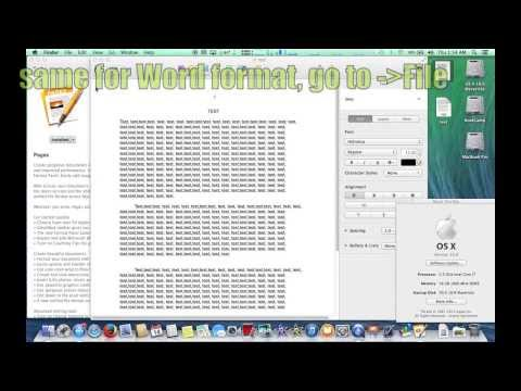 Видео Convert pdf to pages file