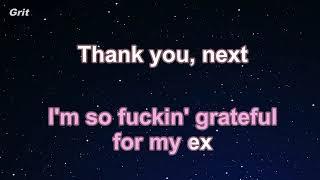 thank u next   Ariana Grande Karaoke 【No Guide Melody】 Instrumental