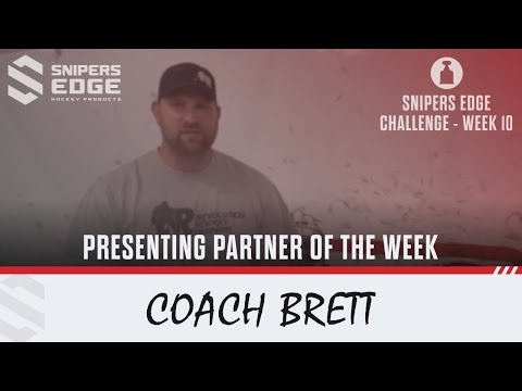 #SnipersEdgeChallenge - Week 10 - Coach Brett, Revolution Hockey Training
