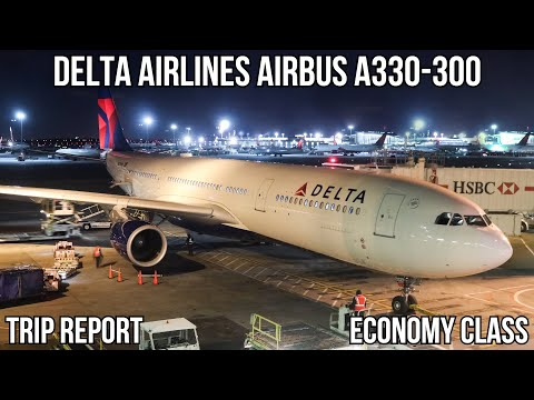 [TRIP REPORT] Delta Airbus A330-300 (ECONOMY) New York (JFK) - Los Angeles (LAX)