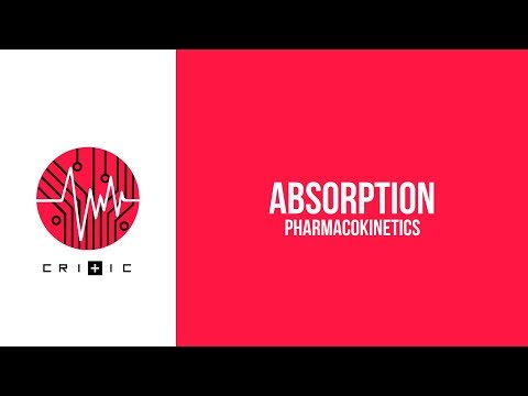 Absorption - The Pharmacokinetics Series