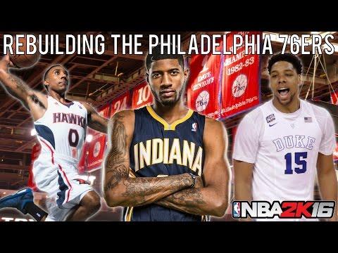 NBA 2K16 MyLEAGUE: Rebuilding the Philadelphia 76ers!