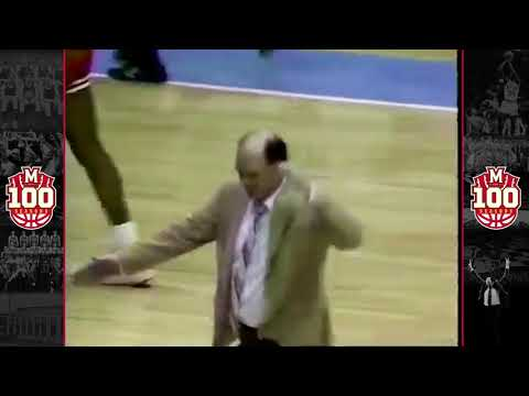 #Terps100 -  Feb. 20, 1986 - Maryland defeats North Carolina in Dean Dome