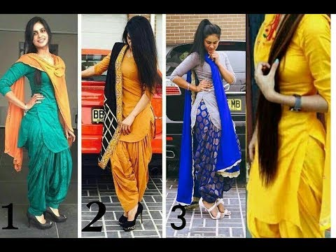 1b36cb8374 Beautiful punjabi suits designs for girls/ latest trendy salwar kameez  designer suit Indian women. TOP 10 FASHION