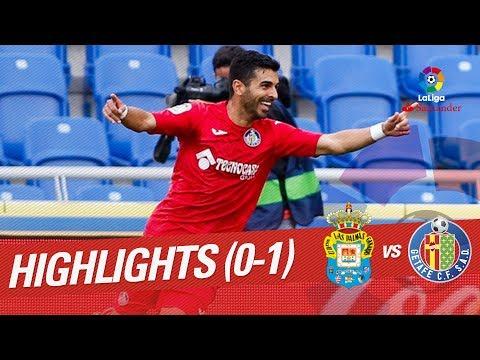 Resumen de UD Las Palmas vs Getafe CF (0-1)
