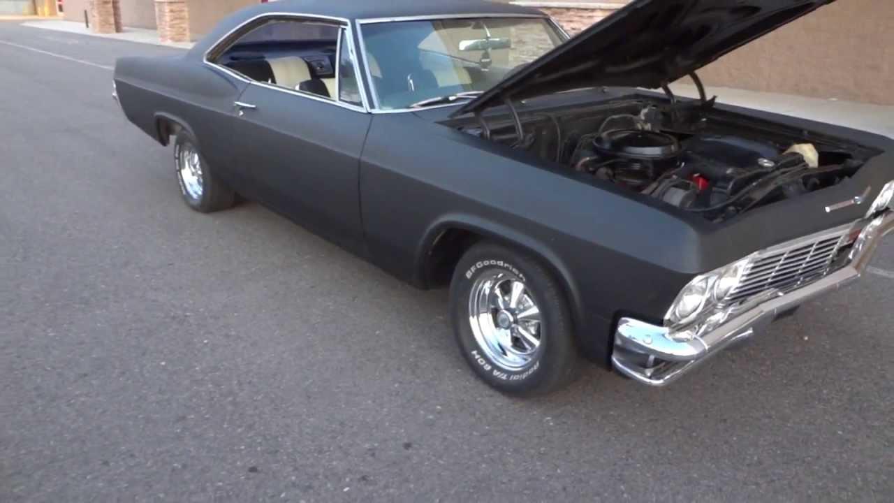 1965 Impala Ss Flat Hot Rod Black Youtube