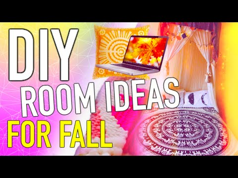 Diy room decor for fall make your room cozy youtube for Diy room decorations youtube