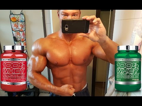 Whey Concentrate Vs. Whey Isolate: No Difference for Muscle Growth!