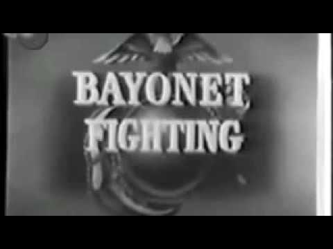 ★ U.S. Marines Training Film (Bayonet Training│1938)