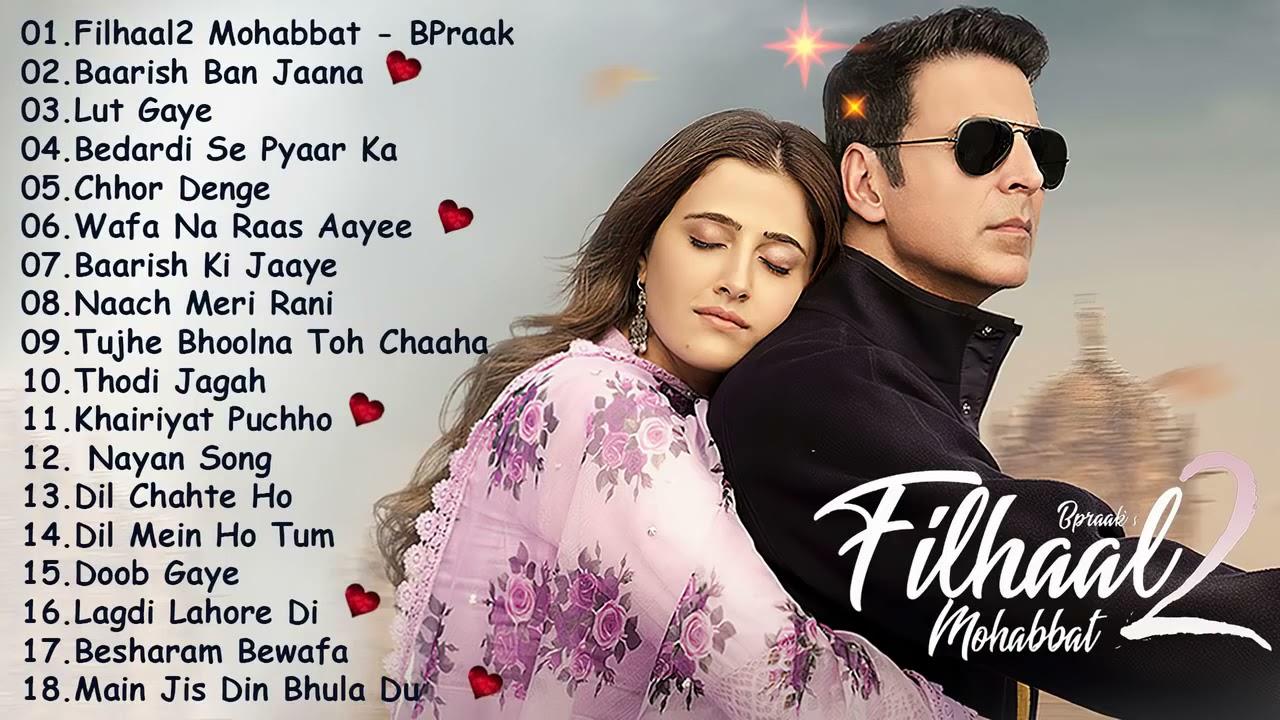 Bollywood New Songs 2021 💖 Filhaal2 Mohabbat, Baarish Ban Jaana, Lut Gaye 💖 Jubin Nautyal