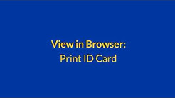 How to Get Your Auto ID Card
