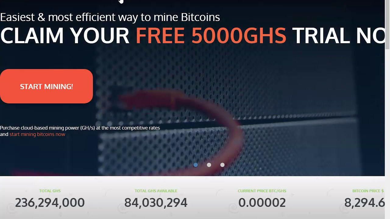 Best Free Cloud Mining Fast Site With 500 GHS bonus earn free unlimited  bitcoin