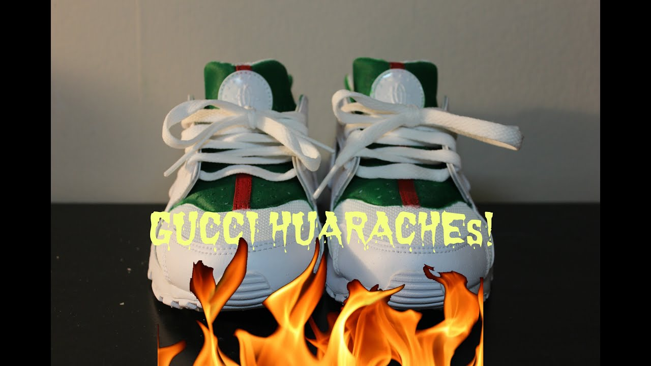 Gucci Huarache Custom