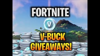 FORTNITE LIVE//VBUCK GIVEAWAY/PLAYING SOLO//SEASON 8// 12+Wins//32+Kills//Come Join The HVG PRIDE!