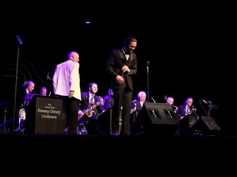 Matt Taylor performing with the Tommy Dorsey Orchestra