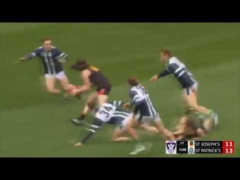 2016 Herald Sun Shield Grand Final - St Joseph's Geelong v St Patrick's Ballarat FULL MATCH