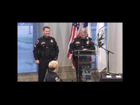 Farmers Branch Police Department Promotional Ceremony April 19, 2017
