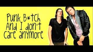 Punk Bitch - 3OH!3 (Lyrics on screen)