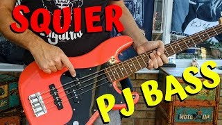 Squier Affinity Precision Bass PJ Review Demo