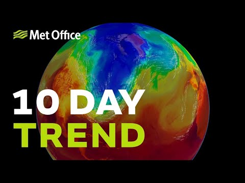 10 Day Trend – Fine for many as high pressure returns
