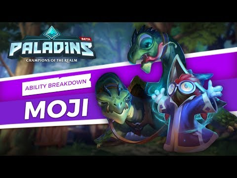 Paladins - Ability Breakdown - Moji and Friends