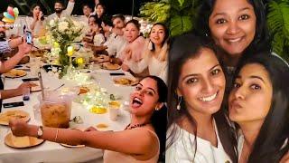 Varalaxmi Sarathkumar Birthday Celebration | Radhika, Velvet nagaram
