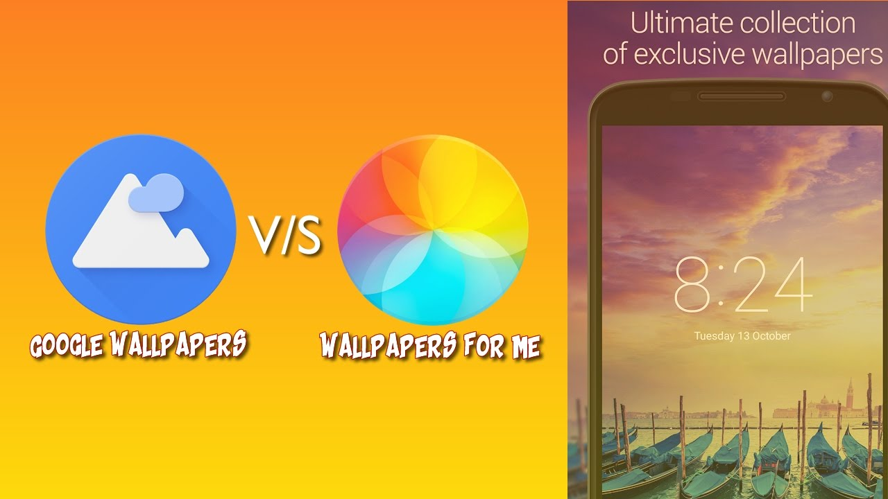 Google Wallpaper v/s Wallpapers For Me Android App Urdu/Hindi