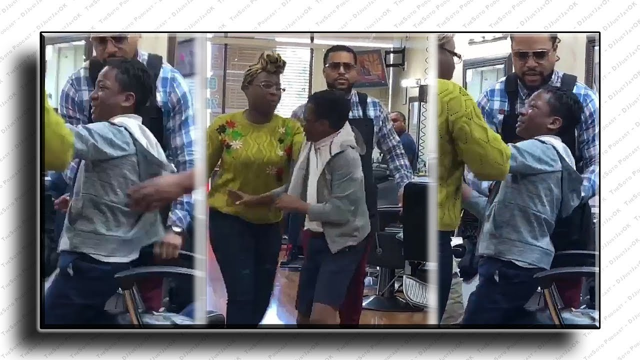 """BLK Mom forces her """"11-yr-old"""" son to get haircut for being bad! - Caught On Camera - YouTube"""