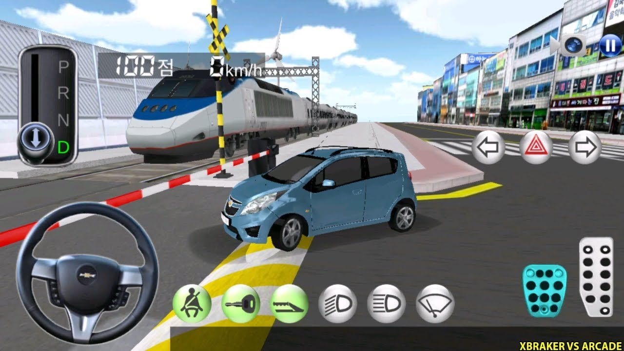 Korean Car Driving Simulator #6 Chevrolet - Driver's License Examination- Best Android Gameplay