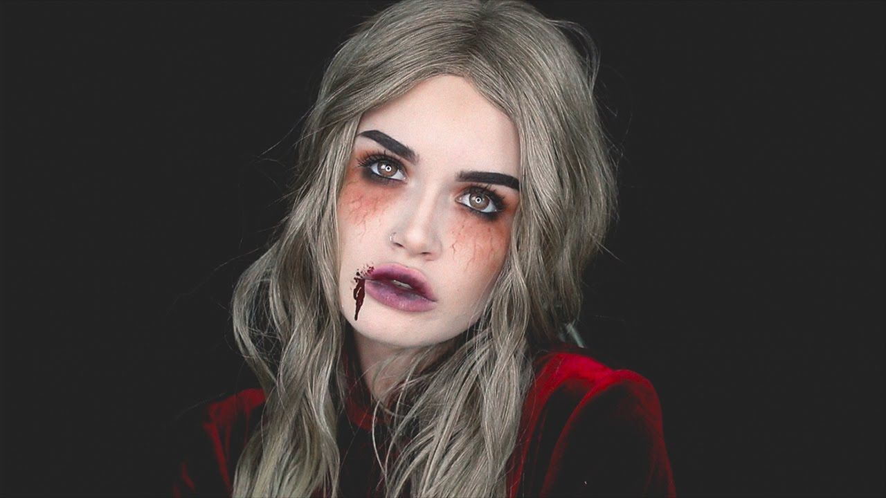 VICTORIAN VAMPIRE | #ASHTOBERFEST HALLOWEEN MAKEUP TUTORIAL - YouTube