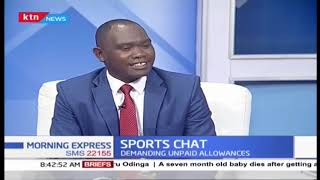 Kenya Paralympics team stage sit-in   SPORTS CHAT    PART 2