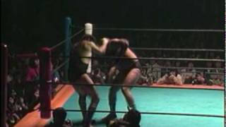 Dutch Mantell vs Akira Maeda (UWF, April 11th 1984)