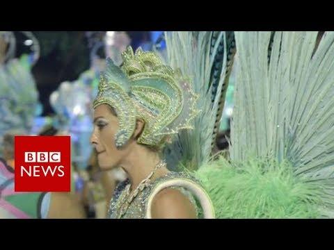 Brazil\'s British Carnival dancer - BBC News