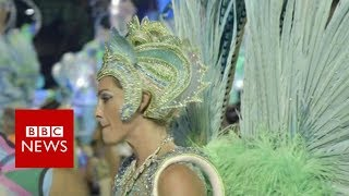 Brazil's British Carnival dancer - BBC News