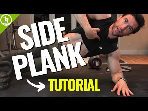 Side Plank Tutorial — (OBLIQUE WORKOUT FOR BEGINNERS)